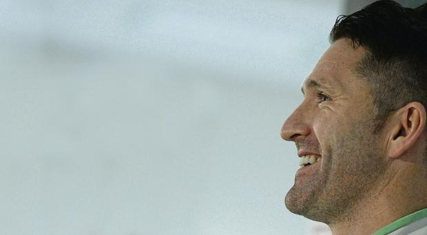 Robbie Keane will start on the bench as he is resting an Achilles problem that is likely to require surgery