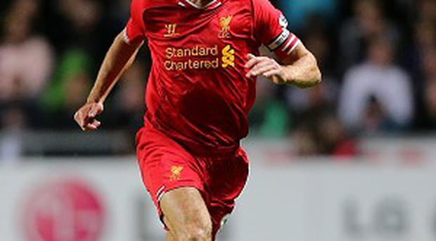 Steven Gerrard is ready to feature at Goodison Park