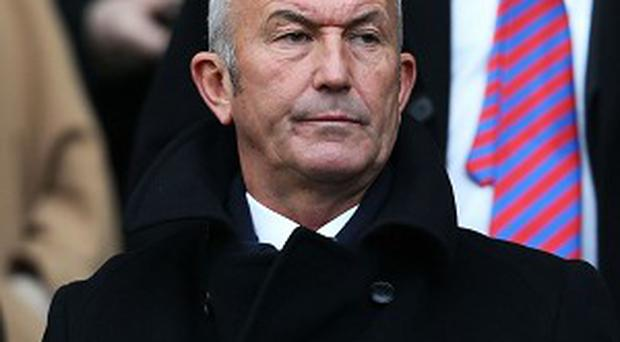 Tony Pulis has been tasked with keeping Palace up