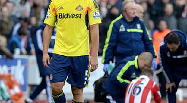 Wes Brown's red card has been overturned