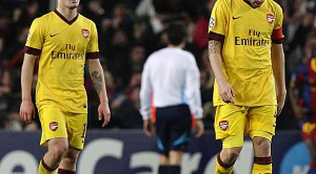 Jack Wilshere, left, learnt a lot off Cesc Fabregas at Arsenal