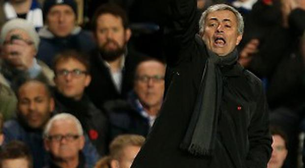Jose Mourinho will use most of his squad over the next three matches