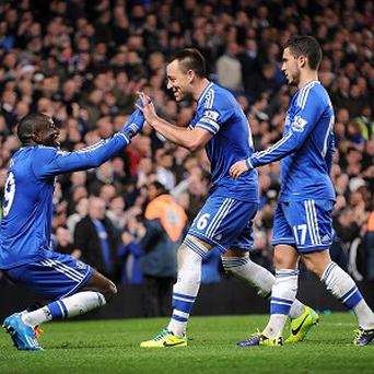 John Terry, centre, is confident CHelsea will get better and better as the weeks go on