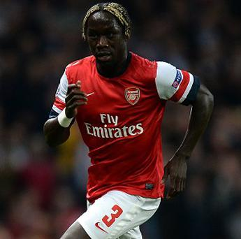 Bacary Sagna will miss Arsenal's clash with Hull