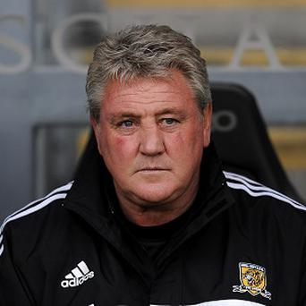 Steve Bruce, pictured, offered words of support to Hull chairman Allam Assem