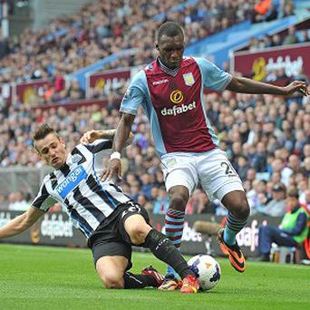 Christian Benteke, right, has found goals hard to come by recently