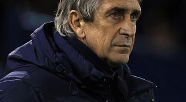 Manuel Pellegrini wants his team to play until the final whistle
