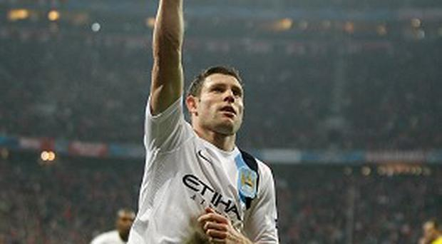 Manchester City's James Milner believes his side were close to their best against Bayern