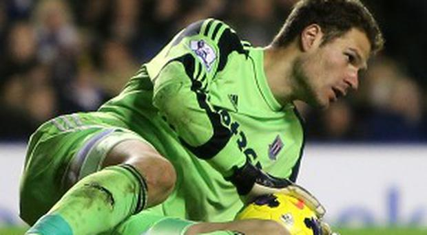 Asmir Begovic could miss the game this weekend through injury