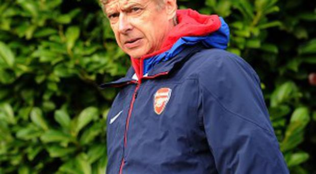 Arsene Wenger's side travel to Manchester City on Saturday
