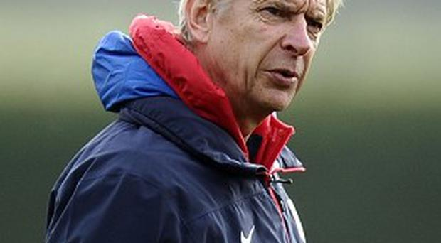 Arsene Wenger is happy with his squad ahead of facing Manchester City