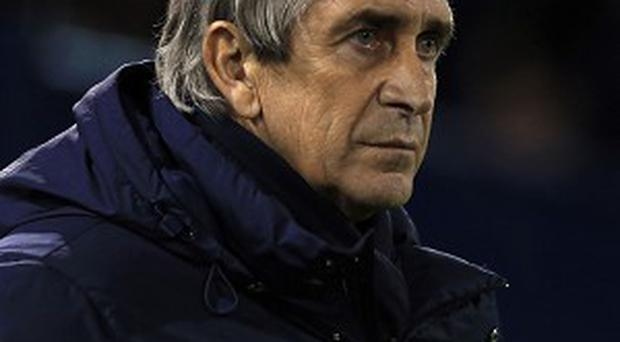 Manuel Pellegrini says he is 'not afraid of who we are going to play in the round of 16'