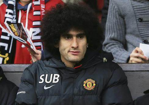 Marouane Fellaini is set to leave United