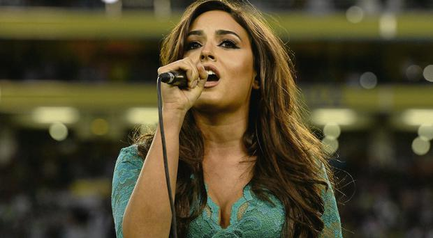 Nadia Forde's singing of the national anthem has attracted a lot of criticism