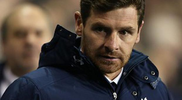 Andre Villas-Boas, pictured, received backing by former Tottenham boss Harry Redknapp