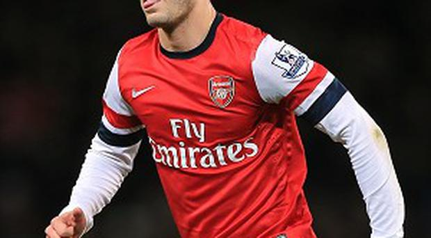 Jack Wilshere could face a one-match ban for his gesture