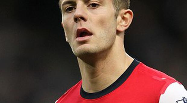Jack Wilshere could miss Arsenal's clash with Chelsea