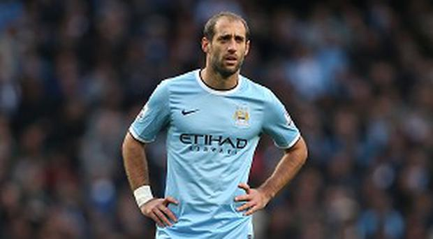 Pablo Zabaleta's absence gives Manchester City problems at right-back