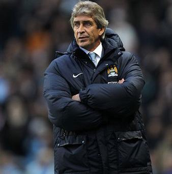 Manuel Pellegrini is not happy with the festive football programme in England