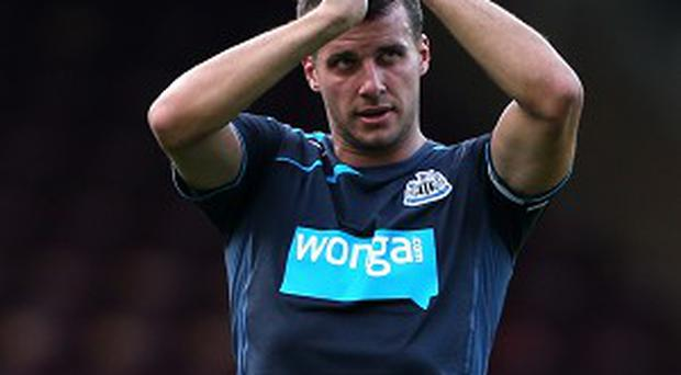 Ryan Taylor has vowed to break back into the Newcastle team