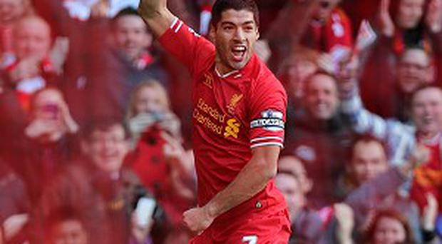 Luis Suarez scored two fine goals for Liverpool
