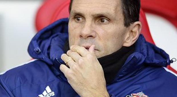 Gus Poyet will need to improve things at Sunderland in the new year