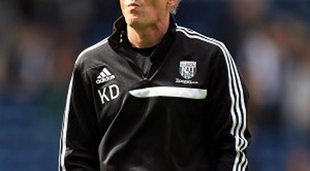 Keith Downing earned a point in his first game in temporary charge of West Brom