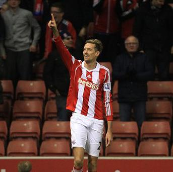 Peter Crouch hit the winner for Stoke