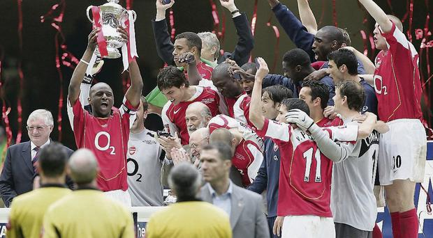 Arsenal have failed to lift silverware since Patrick Vieira got his hands on the