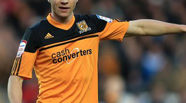James Chester is looking to make an impression against Manchester United