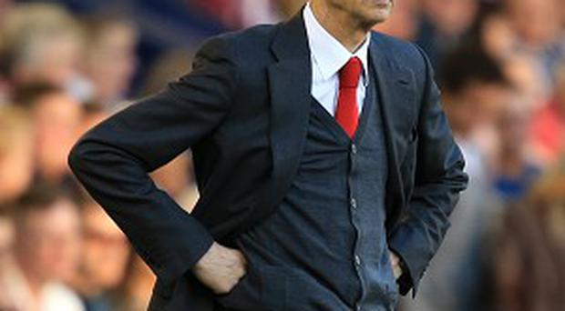 Arsene Wenger's side are level with Premier League leaders Liverpool on 36 points