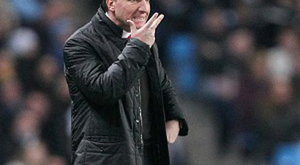 Brendan Rodgers was unhappy with the performance of Lee Mason