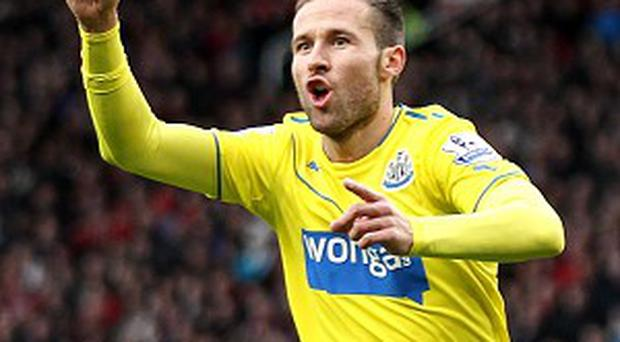 Yohan Cabaye could be a transfer target again during January