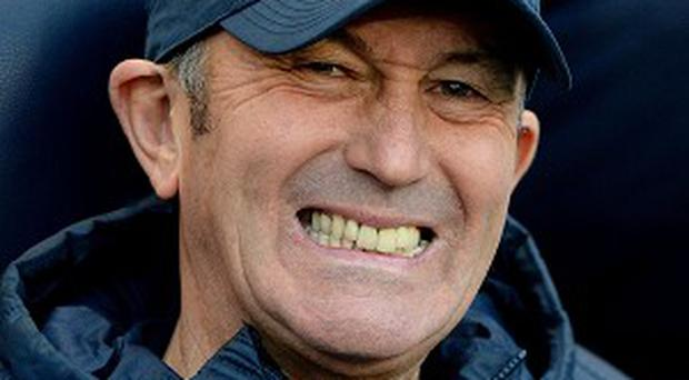 Tony Pulis is happy for Crystal Palace to be outsiders in their remaining matches