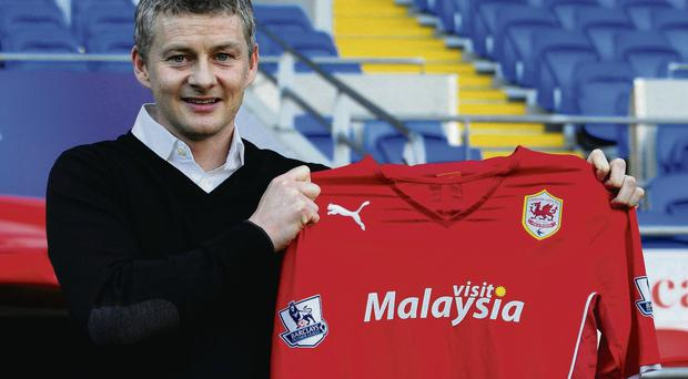 Ole Gunnar Solskjaer is unveiled as the new Cardiff City manager