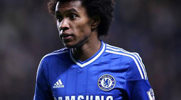 Willian has been in impressive form at Chelsea