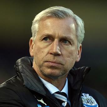 Alan Pardew is searching for striking reinforcements this month