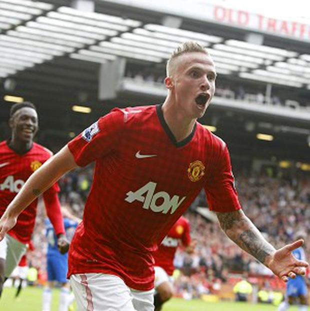Manchester United's Alexander Buttner has no intention of leaving Old Trafford
