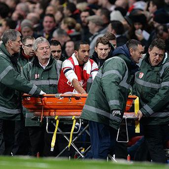 Theo Walcott sustained the season-ending injury in last weekend's FA Cup win against Tottenham