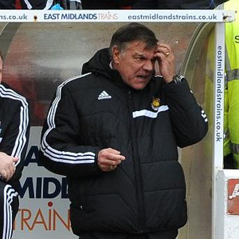 Sam Allardyce's West Ham were beaten 5-0 by Nottingham Forest in the FA Cup last weekend