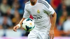 Fabio Coentrao had been linked with a move to Manchester United