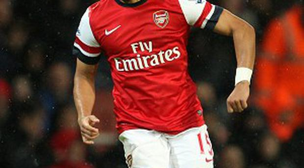Alex Oxlade-Chamberlain is closing in on his comeback from a knee injury