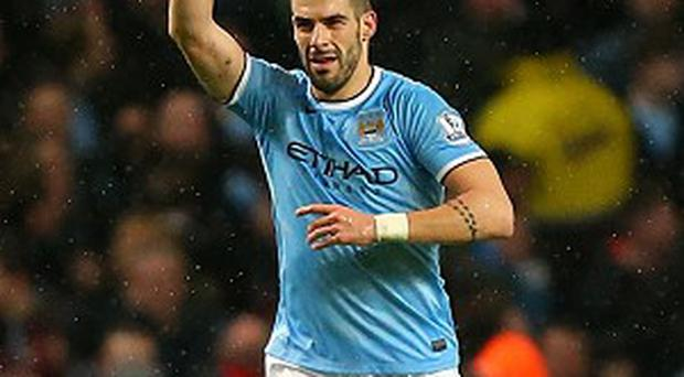 Alvaro Negredo scored a treble in Manchester City's demolition of West Ham