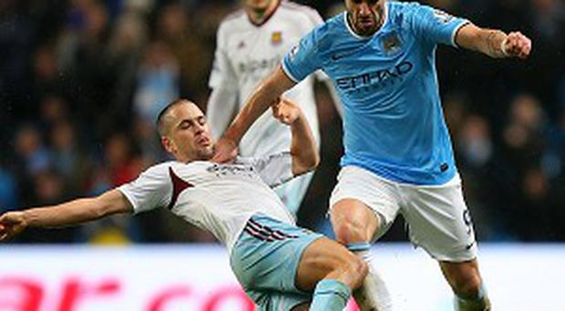 Alvaro Negrado has scored 18 goals for Manchester City since his summer switch from Sevilla