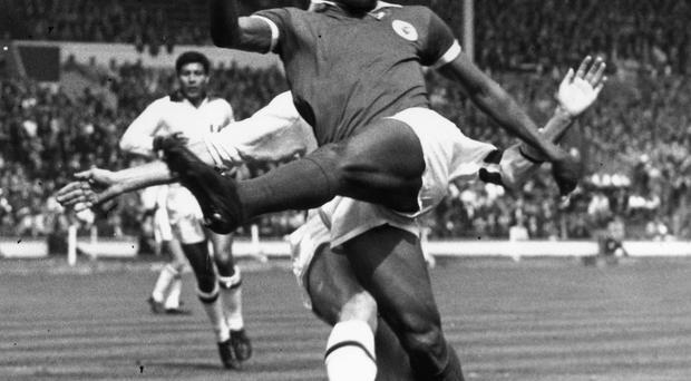You wonder just how great Eusebio might have been had he been surrounded by the likes of Gerson, Rivelino and Jairzinho