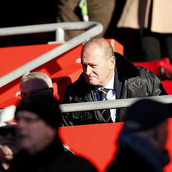 Pepe Mel watched from the stands on Saturday