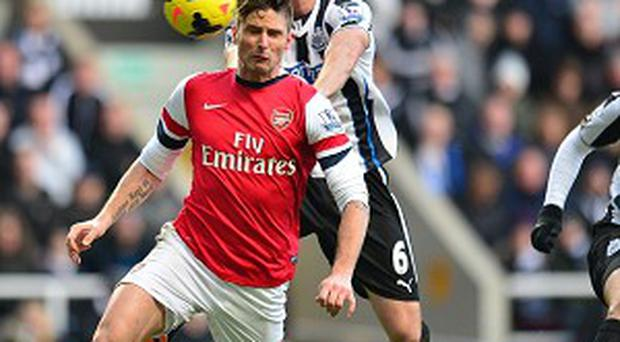 Olivier Giroud has netted 11 goals for Arsenal this term