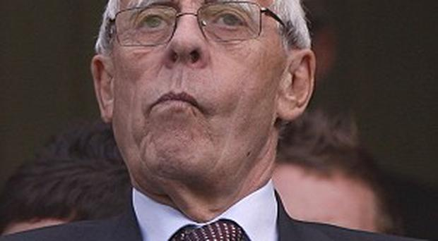 Peter Coates has been unhappy with refereeing decisions recently
