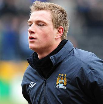 John Guidetti is down the pecking order at Manchester City