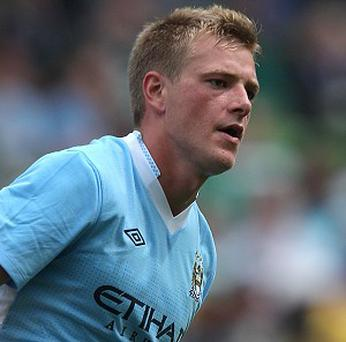 John Guidetti is looking to make an impression at Stoke